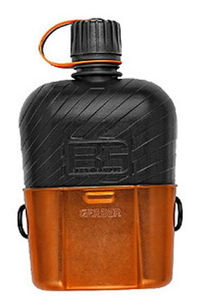 Bear Grylls Canteen Water Bottle with Cooking Cup