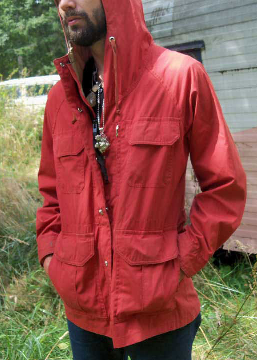 Red Rain Coat from Columbia