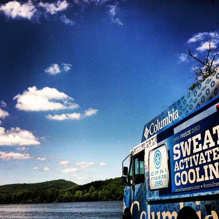 Columbia Sportswear Omnifreeze Truck