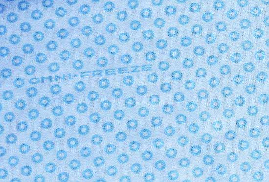 Fabric closeup from Columbia Omnifreeze