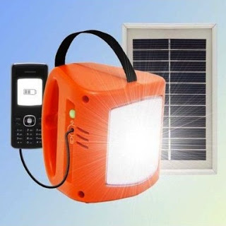 d.light S250 Solar Lantern Mobile Charger