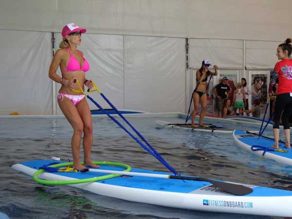 Stand-Up-Paddleboard event