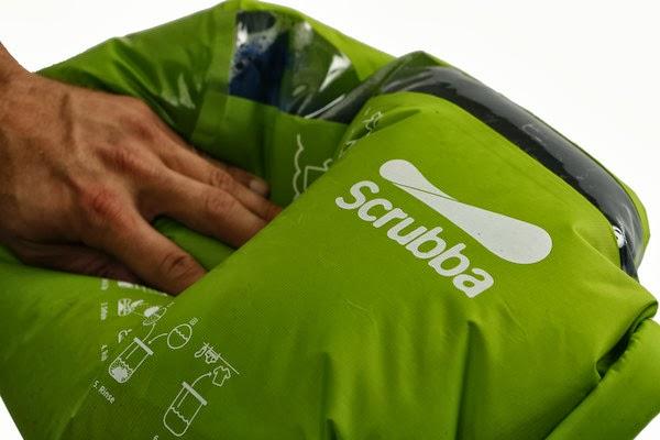 Scrubba, world's smallest washing machine