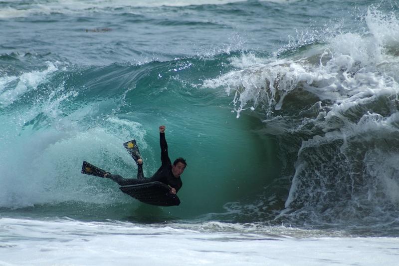 Surfing in a Surf Mat
