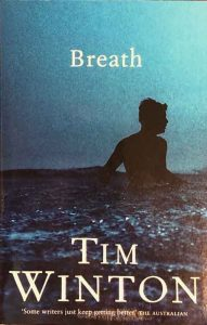"Cover of ""Breath"" a book by Tim Winton"